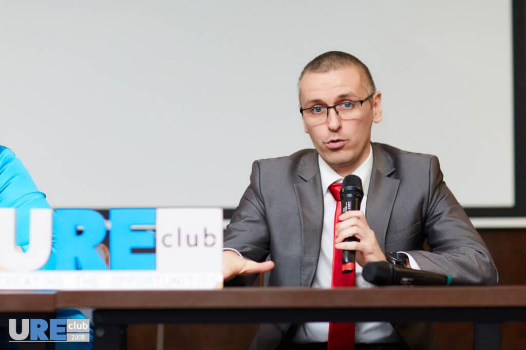 Максим Полішкевич в юридичному клубі