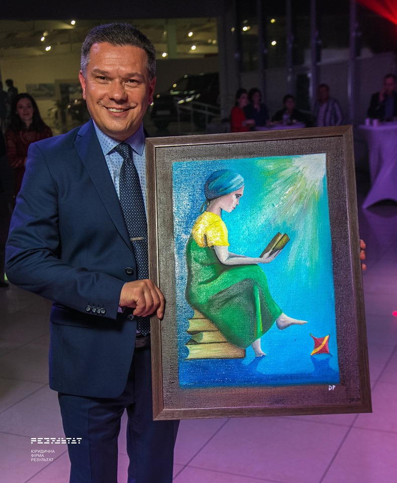 Artur Savin bought a painting